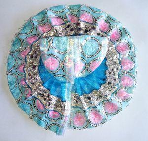 Buy Beautiful Summer Poshak Of Laddu Gopal Embroidered Work ( 2 No) online