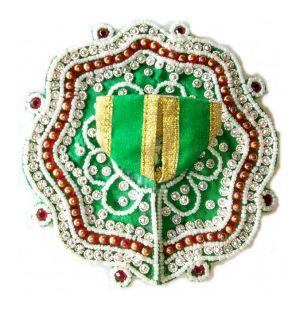 Buy Pearl Stone Work Poshak Zari Work Laddu Gopal Dress ( 3 No) online