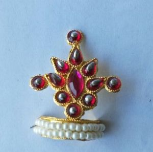 Buy Colourfull Stone Work Mukut For Bal Gopal Shringar / Mukut For Thakurji online