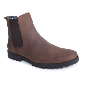 Buy Monkx-casual Leather Boot For Men_btl-003-brown online