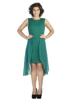Buy Soie Polyester Blend Ggt Dress, High online