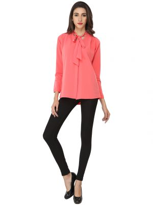 Buy Soie Solid Regular Fit Casual Top (product Code - 6523) online