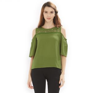 Buy Soie Women's Sleek and stylish Top polyester online