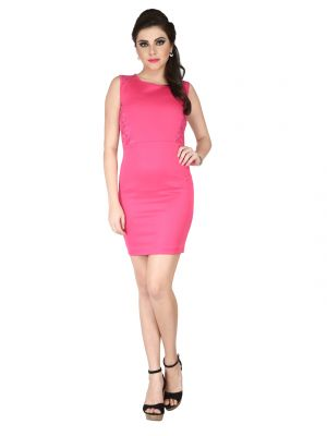 e50a288b0a2 Source http   shopping.rediff.com product soie-pink-polyester-lycra -lace-fabric-dress-for-women-code-6207pink- 18980245