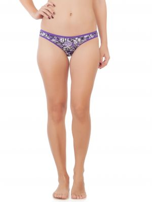 Buy Soie Breeze Print Cotton / Lycra Panty For Women online