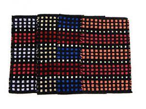 Buy Peponi Multicolor Cotton Hand Woven Door Mat Set Of 4 online