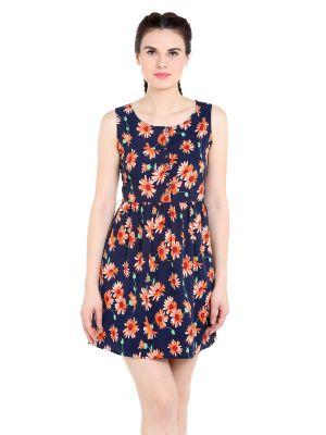 Buy TARAMA Regular Fit Polyester fabric Straight Dress for women online