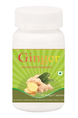 Buy Hawaiian Herbal Ginger Softgel Capsule 60 Softgels online