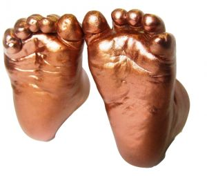 Buy My Impression Studio Diy Newborn 3d Hands And Feet Casting Kit With Metallic Copper Paint Color online