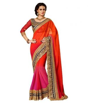 Buy Designer Embroidered Saree online