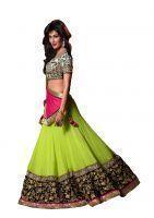 Buy Fabpandora Chitragada Singh Bollywood Style Multicolor Lehenga Choli online
