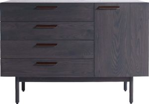 Afydecor Modern Base Cabinet With Four Drawers And Straight Legs(Product Code)_2922