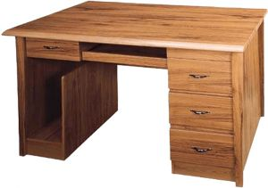 Buy Afydecor Contemporary Glossy Laminated Study Table with Bevelled Edges online