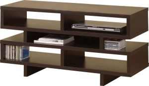 Afydecor Modern Entertainment Unit With Open Back(Product Code)_3180