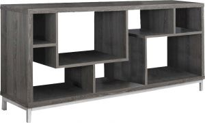 Afydecor Contemporary Open Back Entertainment Unit With Laminated Top(Product Code)_3192