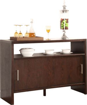 Afydecor Contemporary Storage Sideboard With Plank Legs(Product Code)_3237