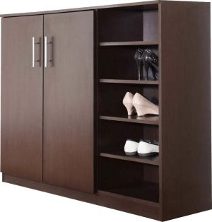 9577d5b4ae Buy Afydecor Contemporary Style Shoe Rack Cabinet With 5-tier Open Storage(product  Code