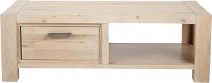 Buy Afydecor Modern Coffee Table with 1 Storage Drawer and Short Wooden Legs online
