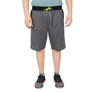 Buy Nnn Men's Dark Grey Knee Length Cotton Bermuda(product Code - A8cw61) online