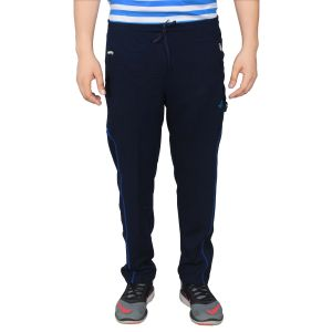 Buy Nnn Men's Navy Blue Full Length Dry Fit Track Pant(product Code - A8cw84) online
