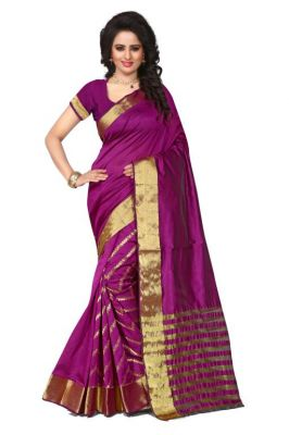 Buy Holyday Womens Poly Cotton Self Design Saree, Maroon (tamasha_leriya_maroon) online
