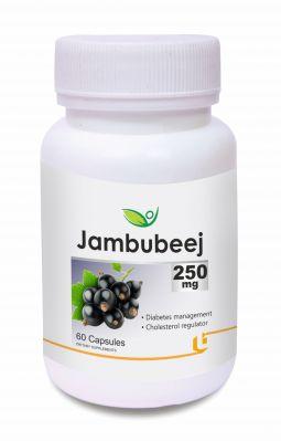Buy Biotrex Jambubeej 250mg (60 Capsules) online