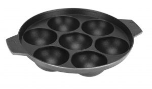 Buy Bms Lifestyle Non-stick Aluminium 7 Cavity Appam Patra/pan online