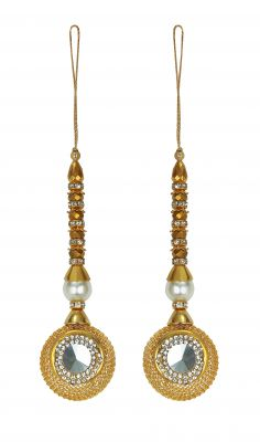 Buy Aarti Creation Handmade Golden Latkan(06) online