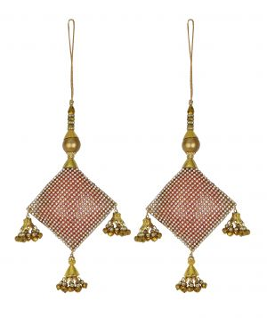 Buy Aarti Creation Handmade Golden Latkan(05) online