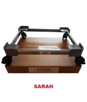 Buy Sarah Adjustable Dual Top Loading Semi / Fully Automatic Washing Machine Trolley - 107 online