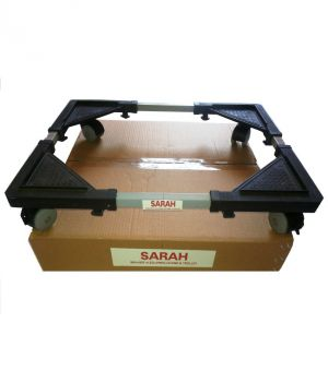 Buy Sarah Adjustable Semi Automatic Top Loading Washing Machine Trolley / Stand - 101 online