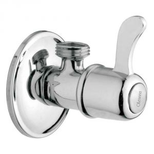Buy Oleanna Magic Brass Angle Cock Silver Taps & Fittings online