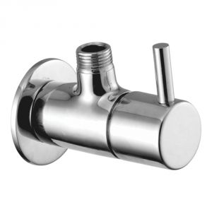 Buy Oleanna Flora Brass Angle Cock Silver Taps & Fittings online