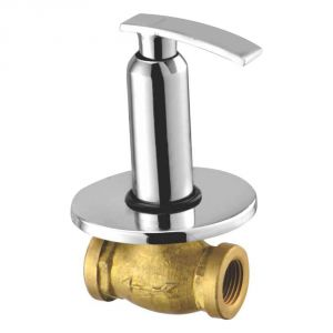 Buy Oleanna Desire Brass Concealed Stop Cock Silver Taps & Fittings online