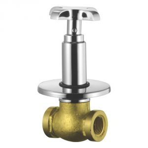 Buy Oleanna Salsa Brass Concealed Stop Cock Silver Taps & Fittings online