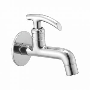 Buy Oleanna Citizen Brass Long Body Silver Taps & Faucets online