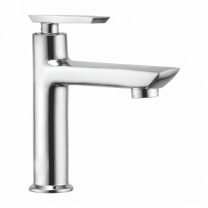 Buy Oleanna Golf Brass Pillar Cock High Neck Silver Taps & Faucets online