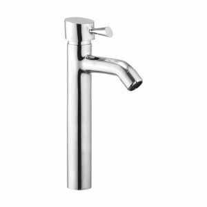 Buy Oleanna Fancy Brass Single Lever Basin Mixer Tall Body 12 Silver Water Mixer online