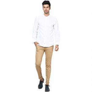 Buy Inspire Khaki Slim Casual Chinos online