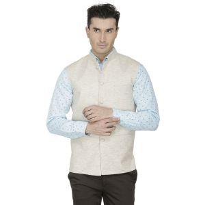 Buy Inspire Cream Linen Modi Jacket online