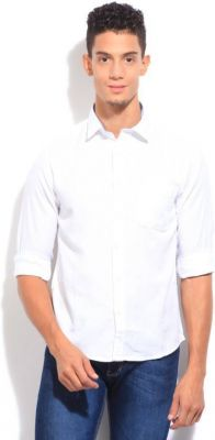Buy Men's White Casual Shirt By Inspire online