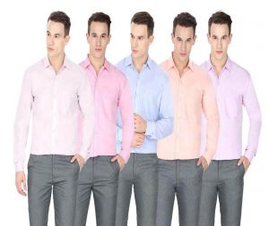 Buy Inspire Formal Shirts Pack Of 5 online