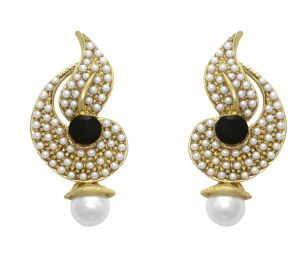 Buy LA TRENDZ DESIGNER BLACK  EARRING FOR GIRLS AND WOMEN online