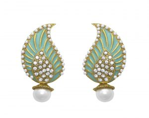 Buy La Trendz Designer Keri Shape Earring For Girls And Women(lt2011) online