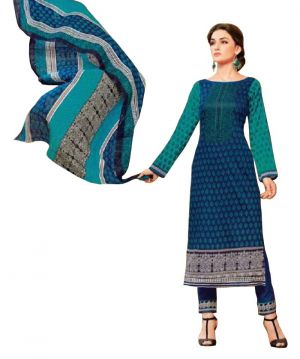 Buy Padmini Unstitched Printed Cotton Dress Material (product Code - Dtsjkashmiricot1002) online