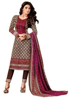 Buy Padmini Unstitched Printed Cotton Dress Material (product Code - Dtsjkashmiricot1003) online