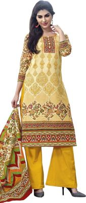 Buy Padmini Unstitched Printed Cotton Dress Material (product Code - Dtmcm5023) online