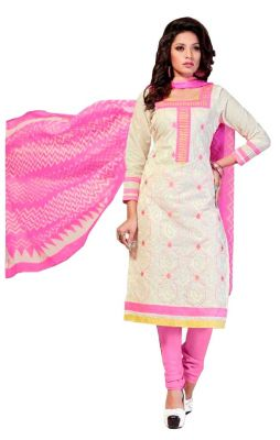 Buy Padmini Unstitched Printed Cotton Dress Material (product Code - Dtsjshinora1001) online