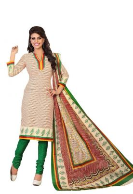 Buy Padmini Unstitched Printed Cotton Dress Material (product Code - Dtrfaaliya1016) online