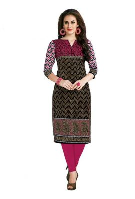 Buy Padmini Unstitched Printed Cotton Kurti Fabrics (product Code - Dtafcoolcot2101) online